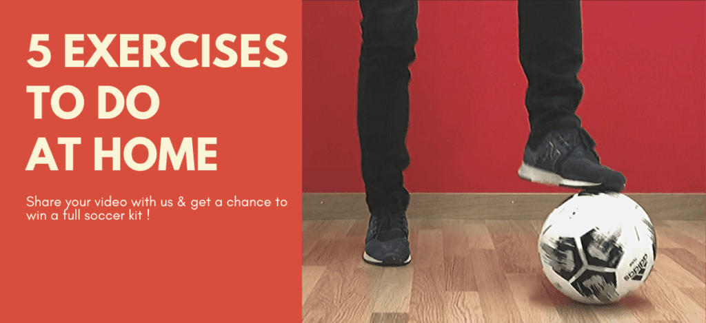 5 exercises at Home